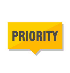 Priority price tag vector