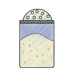 salt shaker vector image