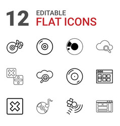 Software icons vector