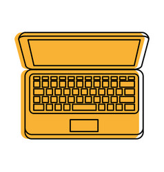 laptop computer icon imag vector image vector image
