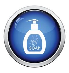Liquid soap icon vector image