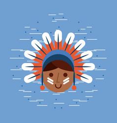 usa native american image vector image vector image
