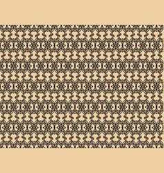 decorative black pattern vector image