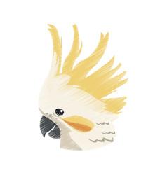 Exotic bird icon image vector