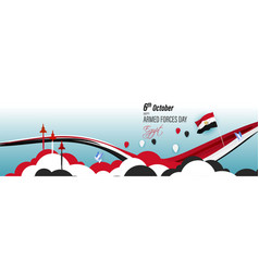 For egypt armed force day-6october vector