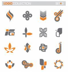Logo collection vector