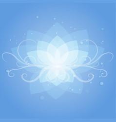 lotos vector image