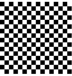 Modern black and white chess board background vector
