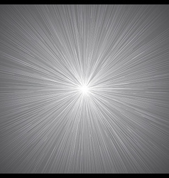 Radial Speed Lines Graphic Effects Background Grey vector image