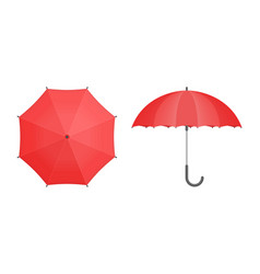 set umbrellas vector image