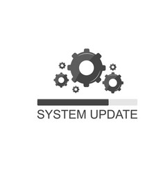 system update vector image