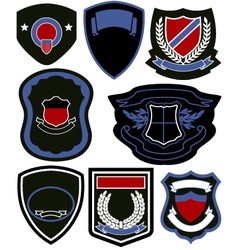 emblem badge icon set vector image vector image