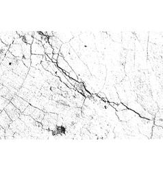 Light Cracked Overlay vector image