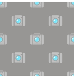 Digital Camera Seamless Pattern vector