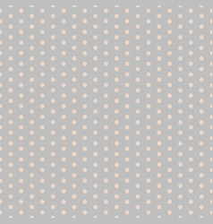 polka dot pattern with small circles dotted vector image