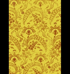 20 Abstract hand-drawn floral seamless pattern vector image vector image