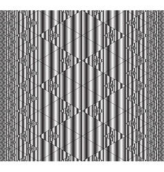 Seamless fractal pattern vector