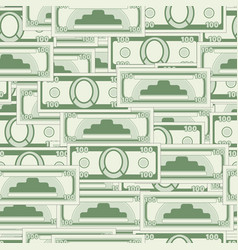 abstract currency seamless pattern vector image