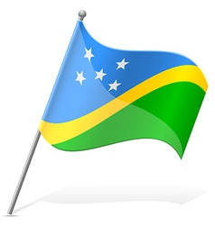 Flag of Solomon Islands vector