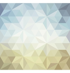 Retro triangle background vector image vector image