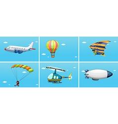 Transportations vector image