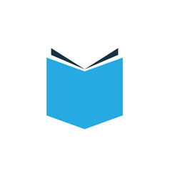 textbook colorful icon symbol premium quality vector image