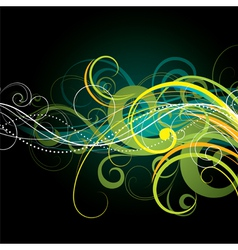 colour composition vector image