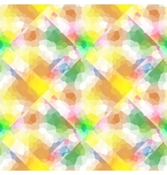 Abstract pattern with rhombus and bright stains vector image