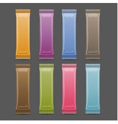 Blank packaging mock up 3d colorado vector