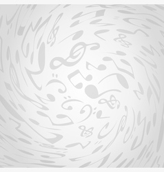 Background musical vector image vector image