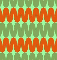 Pattern colored waves vector image vector image