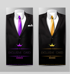 elegant apparel vertical banners vector image vector image
