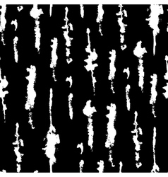 Abstract seamless ink pattern on black background vector image