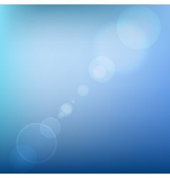 Blue Soft Colored Abstract Background with Lens vector image