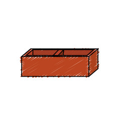 brick icon image vector image