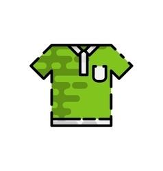 Golf flat icon vector image
