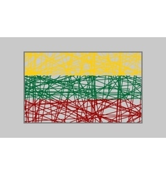 Lithuania flag design concept vector image