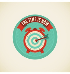 Time is now vector