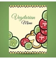 VegetablesMenu2 vector image