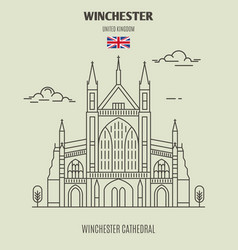 Winchester cathedral vector