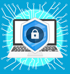 cyber security1 vector image