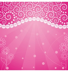 frame decorated vector image vector image