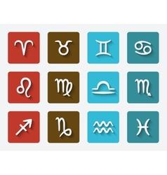 astrological signs set vector image
