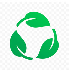 biodegradable recyclable plastic free label icon vector image