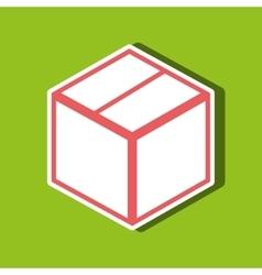 Box carton design vector