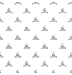 Election day pattern seamless vector