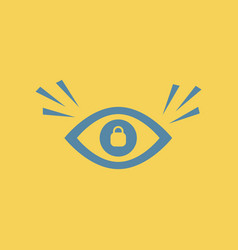 eye problems vector image