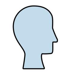 Head icon image vector
