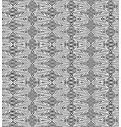 lines rhombuses seamless pattern vector image