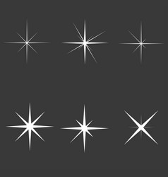Sparkle lights vector